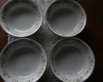 Set of 4 Johann Haviland  Forever Spring Dessert Dishes