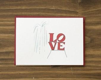 love park fountain philadelphia valentine