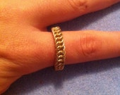 Gold-Filled Persian Chainmaille Ring