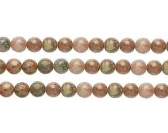 Round Autumn Jasper Beads 4mm 16 Inch Strand