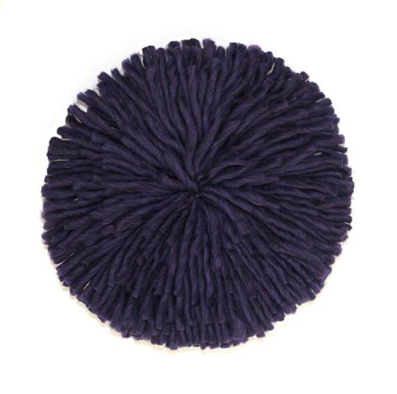 items similar to on sale dark purple 18 juju hat on etsy. Black Bedroom Furniture Sets. Home Design Ideas
