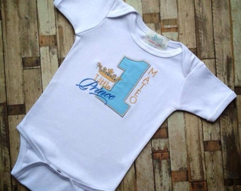 Little Prince Birthday Shirt
