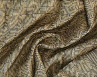 Echo of Perfection Gold Gray wheat chevrons