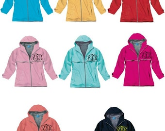 Charles River Women's New Englander Rain Jacket ~ Personalized for FREE ~