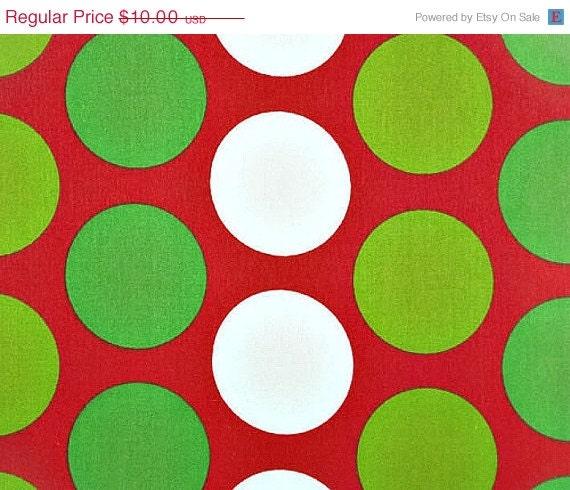 Items similar to Closing Shop Christmas Home Decor Fabric Yardage ...