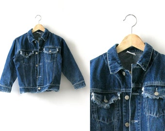 Vintage blue denim jacket - 1990