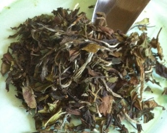 Organic Pai Mu Tan Loose Leaf White Tea