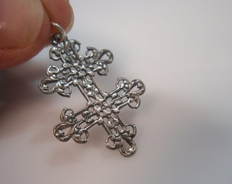 vintage Cross of Lorraine French Foreign Legion Magnum  Pi Team pendant