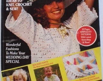 Vintage Good Housekeeping Needlecraft Magazine - Spring/Summer 1979 - 105 Great Ideas to Knit, Crochet and Sew