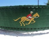 """Dog Collar Race is On 1"""" width side release buckle / very limited ribbon, no martingale"""