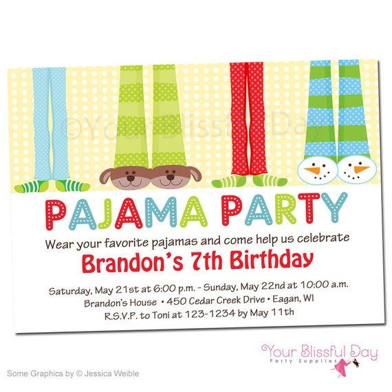 Christmas Pj Party Invitation is beautiful invitations ideas