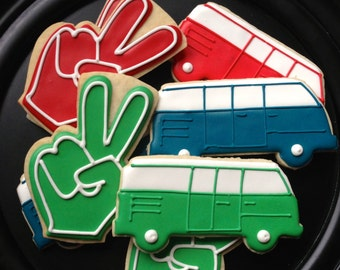 Peace Out, I'm Two! Sugar Cookie Collection
