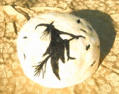 Custom Listing for Julie from Prairie Moon Ceations Witch across the moon