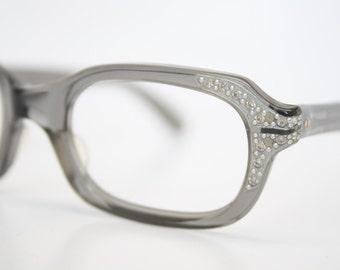 Small Rhinestone Cat Eye Glasses Unused Cat Eye Frames