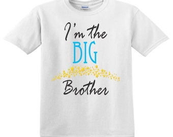 Big Brother with Stars Tee