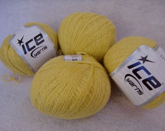 Ice Yarns Cotton-Polyester blend Lace yarn
