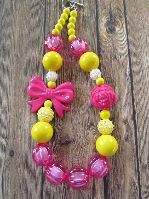 Image Result For Little Girl Chunky Necklaces
