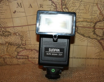 Vintage Sunpak 331 Electronic Flash