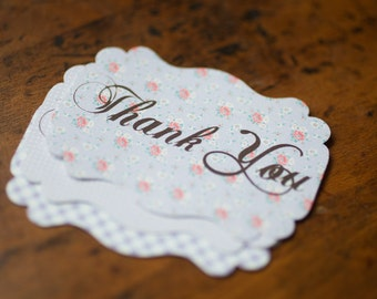 Shabby Chic Sticker Labels
