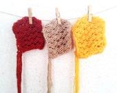 Baby Knit Hat / Newborn Photo Prop / Baby Bonnet / Baby girl hat / Yellow / Rust / Fall