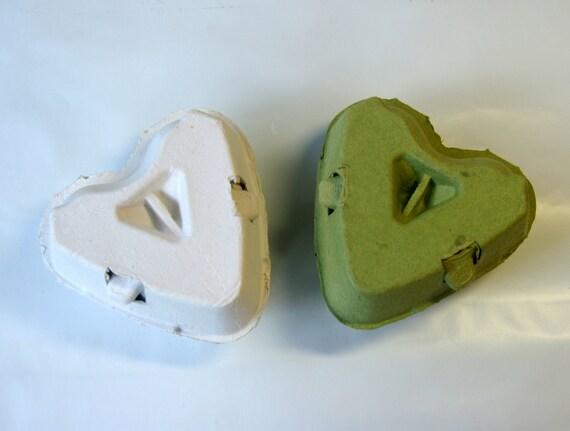 green egg box 10 egg cartons gift box 3 holding type egg carton heart shape