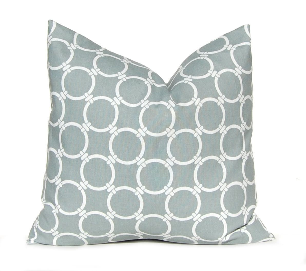 Gray Throw Pillow Covers : Gray Pillow Covers Decorative Pillow Throw Pillow Cover Gray