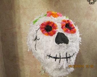Day Of The Dead Pinata - El Dia de los Muertos Pinata -  Skull Pinata - Halloween Pinata
