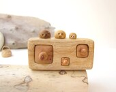 Made to order, Miniature chest of drawers with cute bird family, Wood carving, Unique Wood Sculpture, Wood Hand Carved