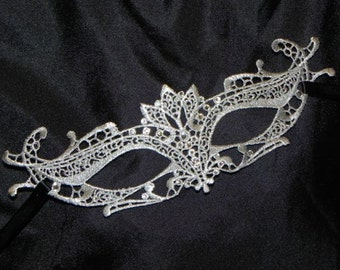 Lace Masquerade Mask - Available in Many Colors