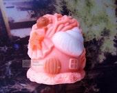 The little fish's home Silicone Soap Mold ( Soap Republic )