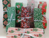 67 YARDS of Vintage CHRISTMAS RIBBON