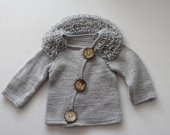 Unique design unisex baby sweater