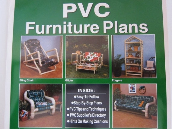 DIY Patio Furniture Plans Packet PVC Pipe Easy Designs Summer