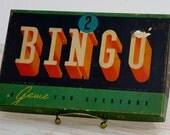 Vintage Bingo Game in Original Box