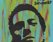 Joe Strummer Stencil Art