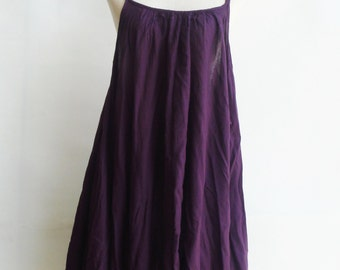 D10, Swan Purple Cotton Dress, violet sundress