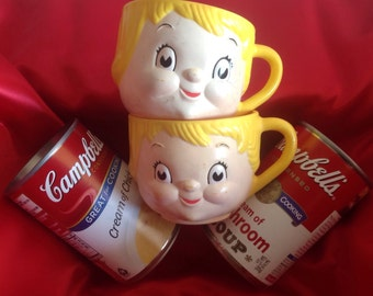 Campbells Soup Kids Set of Cups