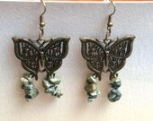 Serpentine Butterfly Earrings
