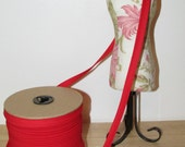 100 Yards Extra Wide Half Inch Double Fold Bias Tape Trim Red