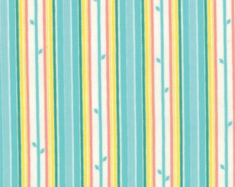 Chantilly - Stem Stripe in Brook by Lauren + Jessi Jung for Moda Fabrics