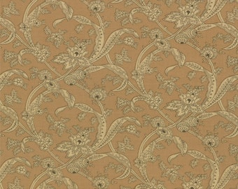Collection for a Cause Circa 1852 - Jacobean Leaves in Tan by Howard Marcus for Moda Fabrics