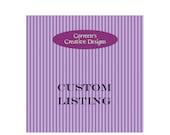 Reserved Listing For Tonya - Custom Mary Poppins Running Costume Deposit