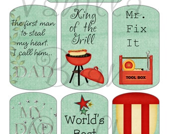 DAD Fathers Day Dog Tag images download