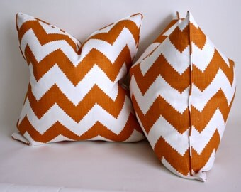 Jonathan Adler's Chevron Pillow Covers