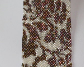 Seed Bead PATTERN Peyote Stitch  for Lace #6