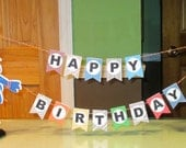 Mini Monster Birthday display