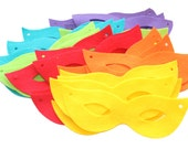 Felt masks BRIGHT Set of 36 pieces