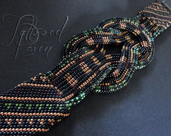 Beaded Herculean Knot