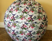 Reserved for Jamie: Birthing ball cover / exercise ball cover