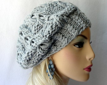 Knitting Hat Pattern, Knit slouch beanie pattern, beanie pattern, knitting pattern Knit Celtic Goddess Slouch Beanie Pattern